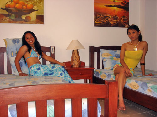 sole e mare beach resort moalboal room